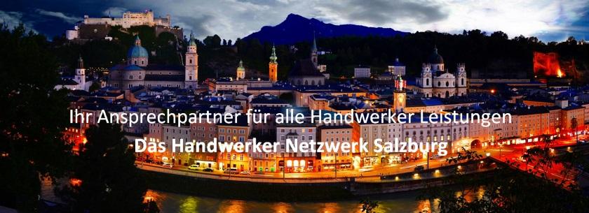HANDWERKER Netzwerk Salzburg - Ihr Ansprechpartner für alle Handwerkerleistungen.