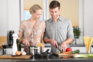 Die Zubereitung von Speisen ist im Grunde genommen der Urzweck einer Küche.