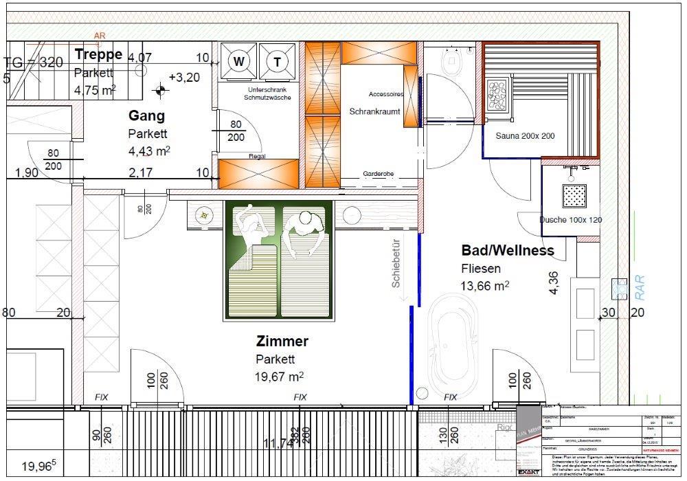 Schlafzimmer Mit Bad Und Sauna Wellness Zu Hause