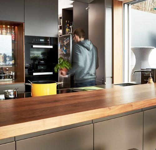 Wohnküche Kücheninsel: Schönster Treffpunkt Zuhause