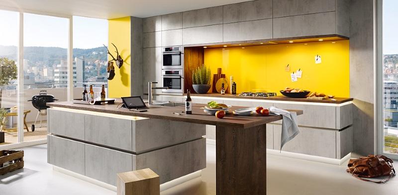 ergonomische Küche – Farben