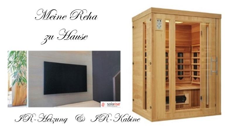 Deine Wohnung gesund renovieren!  BEIDES, die Infrarotheizung und Infrarotkabine in deinen eigenen vier Wänden finalisieren dir die gesunde Renovierung deiner Wohnung.