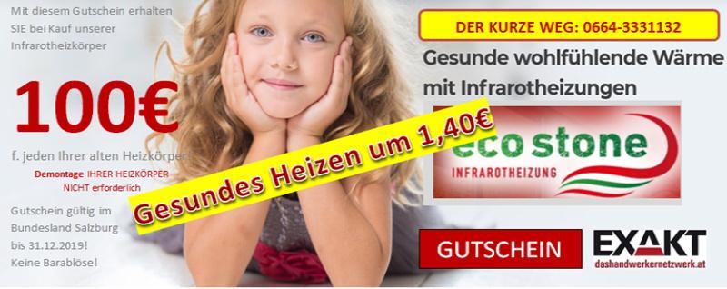Infrarotheizung - Aktion verlängert bis 31.12.2020